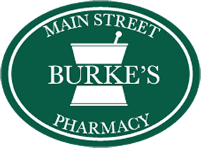 Burke's Main Street Pharmacy logo